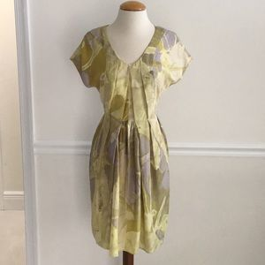 Doo Ri NewYork NWOT Sz-4 💯% Silk fitted Dress